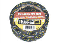 Everbuild EVB2BTBK50 - Builder's PVC Tape Black 50mm x 33m