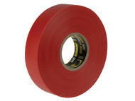 Everbuild EVB2ELECRED - Electrical Insulation Tape Red 19mm x 33m