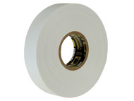 Everbuild EVB2ELECWE - Electrical Insulation Tape White 19mm x 33m