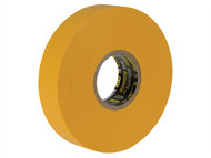 Everbuild EVB2ELECYW - Electrical Insulation Tape Yellow 19mm x 33m