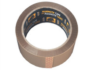Everbuild EVB2PTBN48 - Retail/Labelled Packaging Tape Brown 48mm x 50m