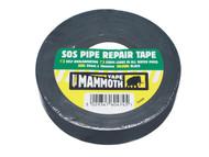 Everbuild EVB2SOSBK - SOS Pipe Repair Tape Black 25mm x 10m