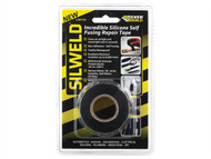 Everbuild EVB2SWELDBK - Silweld Tape Black 3m