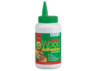 Everbuild EVB5MINPU7 - 5min Polyure Wood Adhesive Liquid 750g