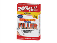 Everbuild EVBFILL450 - All Purpose Powder Filler 450g + 30% Free