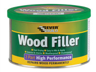 Everbuild EVBHPWFL14K - Wood Filler High Performance 2 Part Light Stainable 1.4kg