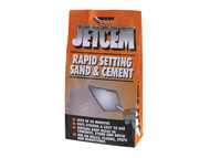 Everbuild EVBJETX6 - Jetcem Premix Sand & Cement 6kg (Single 6kg Pack)