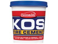 Everbuild EVBKOSBLK1K - KOS Fire Cement Black 1kg