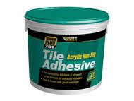 Everbuild EVBNS10 - Non Slip Tile Adhesive 10 Litre 16kg