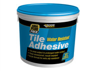 Everbuild EVBRES10 - Water Resist Tile Adhesive 10 Litre