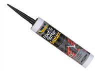 Everbuild EVBROOFBL - Roof & Gutter Sealant Black 310ml
