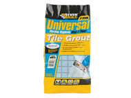 Everbuild EVBUFLEX5WE - Universal Flexible Grout White 5kg