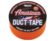 Everbuild EVBUSDTO25M - American Duct Tape Orange 50mm x 25m