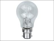 Energizer Lighting EVES4863 - GLS ECO Halogen Bulb 33 Watt (40 Watt) BC/B22 Bayonet Cap Box of 1