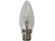Energizer Lighting EVES4871 - Candle ECO Halogen 33 Watt (40 Watt) BC/B22 Bayonet Cap Card of 2