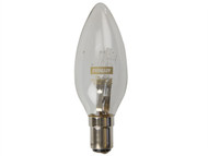 Energizer Lighting EVES4873 - Candle ECO Halogen 33 Watt (40 Watt) SBC/B15 Small Bayonet Cap Card of 2