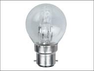 Energizer Lighting EVES4878 - G45 ECO Halogen Bulb 33 Watt (40 Watt) BC/B22 Bayonet Cap Box 1