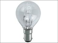 Energizer Lighting EVES4880 - G45 ECO Halogen Bulb 33 Watt (40 Watt) SBC/B15 Small Bayonet Cap Box 1