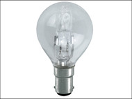 Energizer Lighting EVES5423 - G45 ECO Halogen Bulb 48 Watt (60 Watt) SBC/B15 Small Bayonet Cap Box 1