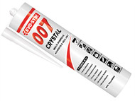 Evo-Stik EVO007CRYCLE - 007 Adhesive & Sealant 290ml Crystal Clear