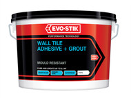 Evo-Stik EVO416536 - Mould Resistant Wall Tile Adhesive & Grout 5 Litre