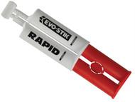 Evo-Stik EVO808522 - 5 Min Epoxy Rapid Syringe 25ml