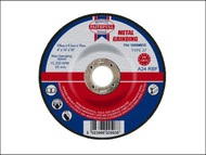 Faithfull FAI1006MDG - Grinding Disc for Metal Depressed Centre 100 x 6.5 x 16mm