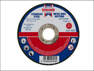 Faithfull FAI11512M - Cut Off Disc for Metal 115 x 1.2 x 22mm