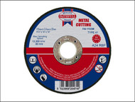 Faithfull FAI1153M - Cut Off Disc for Metal 115 x 3.2 x 22mm