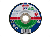 Faithfull FAI1156SDG - Grinding Disc for Stone Depressed Centre 115 x 6 x 22mm