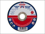 Faithfull FAI12512M - Cut Off Disc for Metal 125 x 1.2 x 22mm