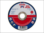 Faithfull FAI1253M - Cut Off Disc for Metal 125 x 3.2 x 22mm