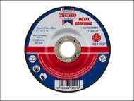 Faithfull FAI1256MDG - Grinding Disc for Metal Depressed Centre 125 x 6.5 x 22mm
