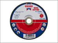 Faithfull FAI1803MDC - Cut Off Disc for Metal Depressed Centre 180 x 3.2 x 22mm
