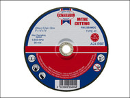 Faithfull FAI2303MDC - Cut Off Disc for Metal Depressed Centre 230 x 3.2 x 22mm