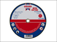 Faithfull FAI3003520M - Cut Off Disc for Metal 300 x 3.5 x 20mm