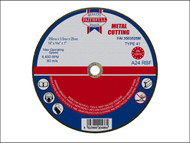 Faithfull FAI3503525M - Cut Off Disc for Metal 350 x 3.5 x 25mm