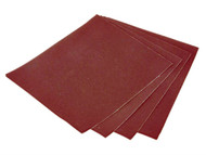 Faithfull FAIAAOS80 - Aluminium Oxide Cloth Sheet 230 x 280mm 80g (25)