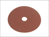 Faithfull FAIAD12560 - Resin Bonded Fibre Disc 125mm x 22mm x 60g (Pack of 25)