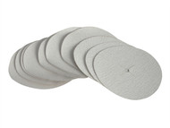 Faithfull FAIAD125A - Paper Sanding Disc 6 x 125mm Assorted (Pack of 10)