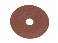 Faithfull FAIAD178120 - Resin Bonded Fibre Disc 178mm x 22mm x 120g (Pack of 25)