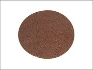 Faithfull FAIADHL125A - Hook & Loop Sanding Disc 125mm Plain Assorted (Pack of 5)
