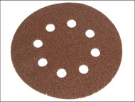 Faithfull FAIADHL150MF - Hook & Loop Sanding Disc 150mm DID2 Medium Fine (Pack of 5)