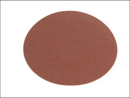 Faithfull FAIADSA15012 - Self Adhesive Red PSA 150 mm Disc 120G (Pack of 25)