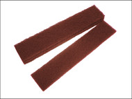 Faithfull FAIAPLUSTRIP - Abrasive Plumb Strips Maroon Assprted 50 x 250 mm (6)