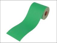 Faithfull FAIAR1040G - Aluminium Oxide Paper Roll Green 115 mm x 10m 40g