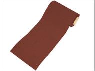 Faithfull FAIAR1080R - Aluminium Oxide Paper Roll Red Heavy-Duty 115 mm x 10m 80g