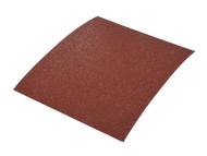 Faithfull FAIASPALM5C - Palm 1/4 Sheet Sander Sheets 115 x 140mm Coarse (Pack of 5)