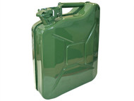 Faithfull FAIAUJERRY10 - Green Jerry Can - Metal 10 Litre