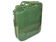 Faithfull FAIAUJERRY20 - Green Jerry Can - Metal 20 Litre